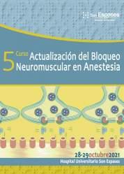 V Curso del Bloqueo Neuromuscular en Anestesia