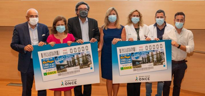 El cupón de la ONCE homenajea al personal del Hospital Universitario Son Espases