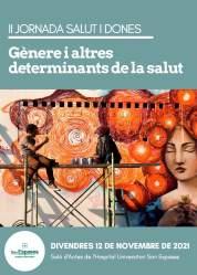 II Jornada salut i dones: Gènere i altres determinants socials de la salut